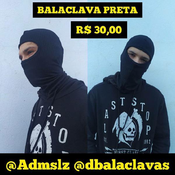 Balaclava/touca/mascara para motociclistas, policiais,