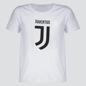 Camiseta Juventus Secret Sport Infantil Branca <div