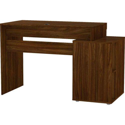 Mesa para computador politorno avar/u00e9, imbuia