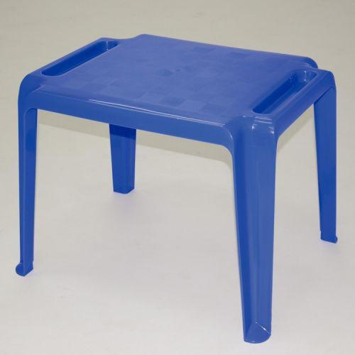 Mesa quadrada tramontina dona chica azul