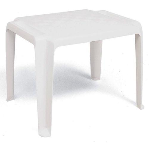 Mesa quadrada tramontina dona chica branco