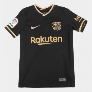 Parcelado] Camisa Barcelona Juvenil Away 20/21 s/n°