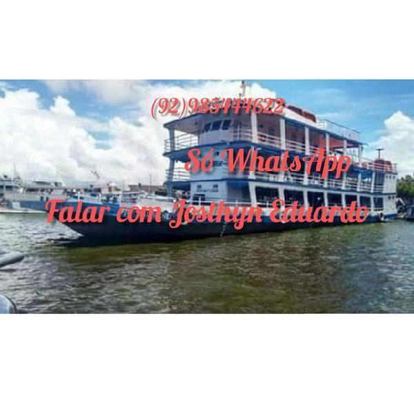 Vendo embarcações de ferro e madeira