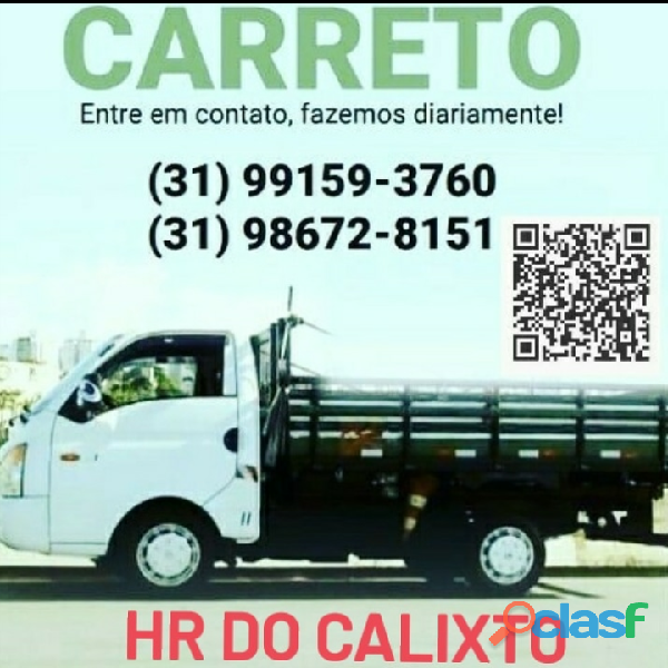 Carreto HR do Calixto   carreto BH