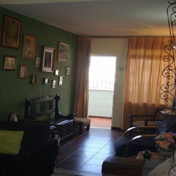 Cobertura - rua mariz e barros, 3 quartos, indevassável, 1