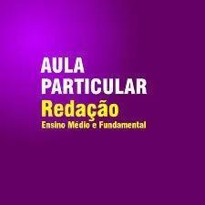 Aulas particulares de redação e língua portuguesa