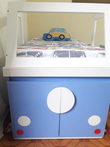 Mini cama combi madeira maciça!!
