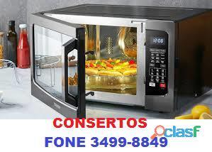 CONSERTO DE MICROONDAS FONE 3499 8849
