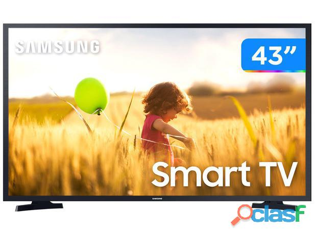 "Smart TV Full HD LED 43"" Samsung 43T5300A   Wi Fi HDR 2 HDMI 1 USB"