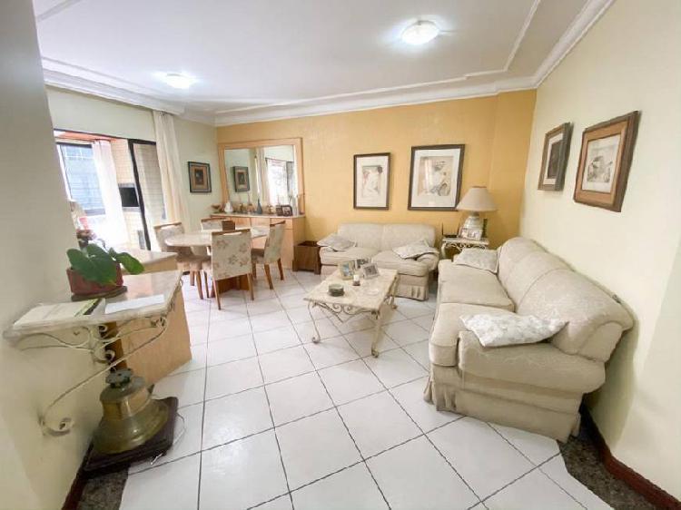 Apartamento garden no edifício saint louis com 3 quartos à