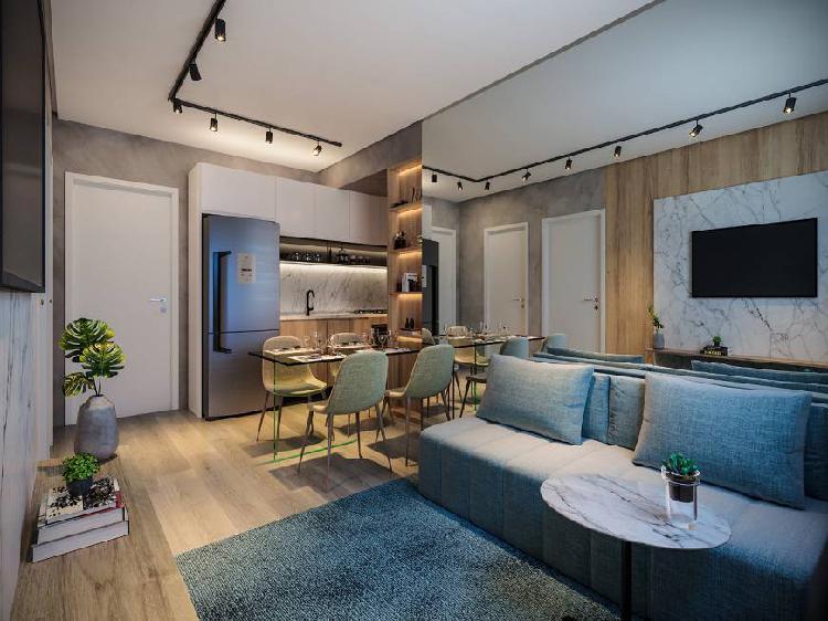 Apartamento na planta na zona oeste com 33 metros quadrados