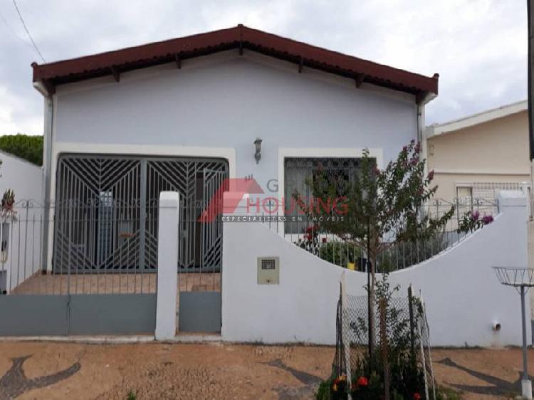 Casa residencial em campinas - sp, jardim eulina
