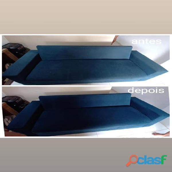 Lavagem ar seco (Lavagem e higienizacao de Estofados) 1