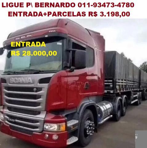 Scania r440 ano 2015 7 eixos único dono!!