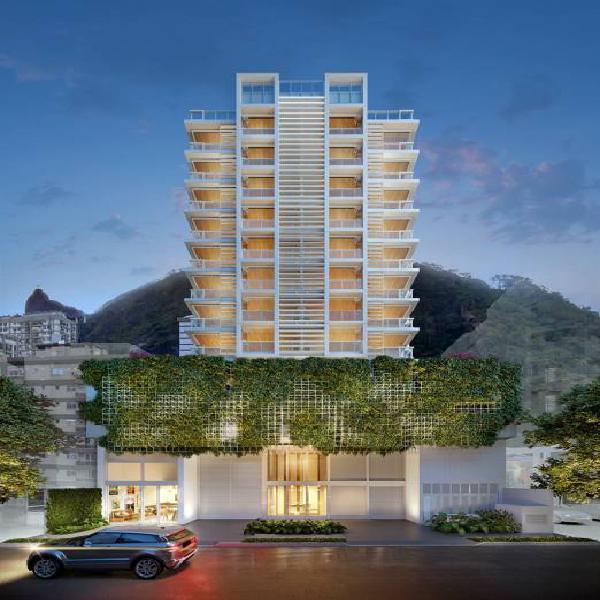 Botafogo: aptos de 140m2 com 4 qts sendo 3 suites e 2 vgs