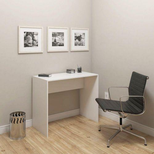 Mesa escrivaninha madri 900mm - branco