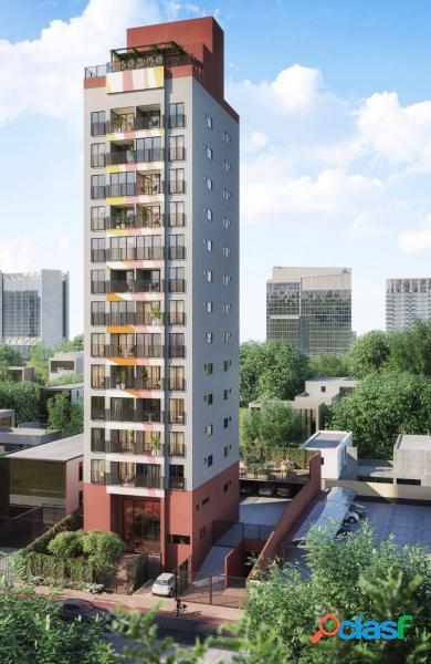 Edifícil nano - apartamento com 1 dorms em são paulo - chácara santo antônio (zona sul) por 358.000,00 à venda