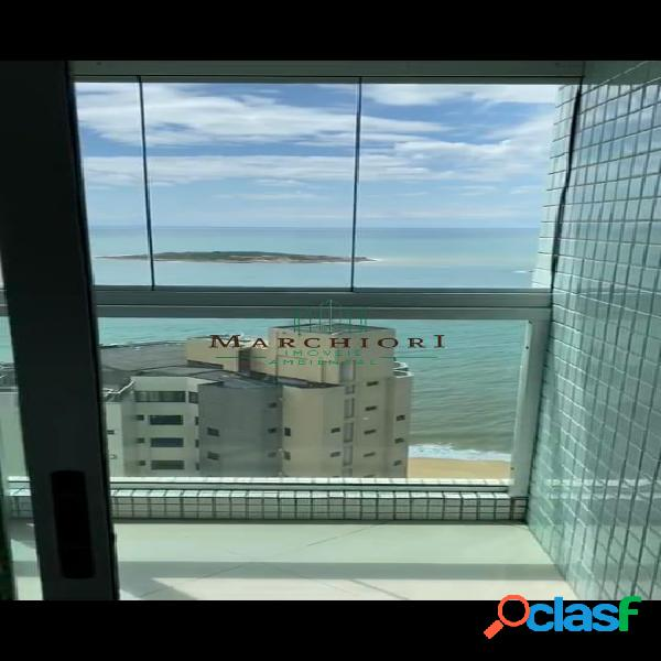 Apto 3 quartos frente andar alto vista do mar e sul