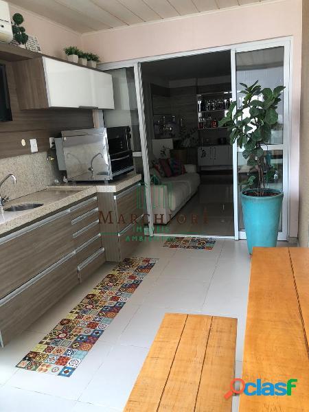 Apto 3 quartos (1 suíte), montado, closet, varanda gourmet, 2 vagas, lazer
