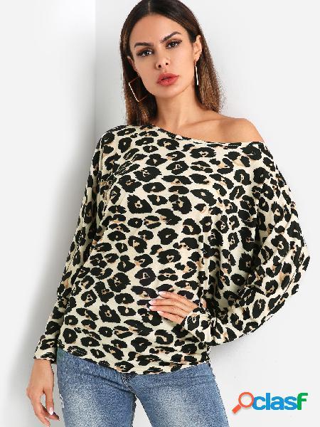 Blusa de manga dolman leopard one