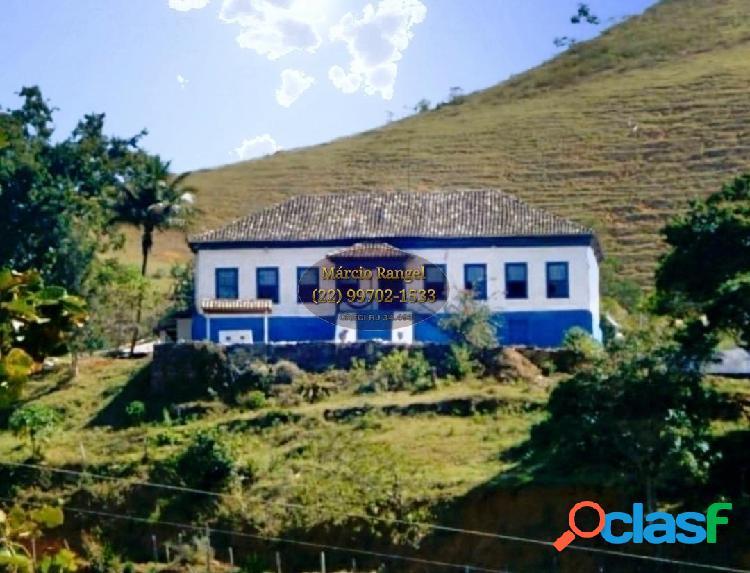 Fazenda 300 alqueires para criação de gado e cafeicultura, no sul do es