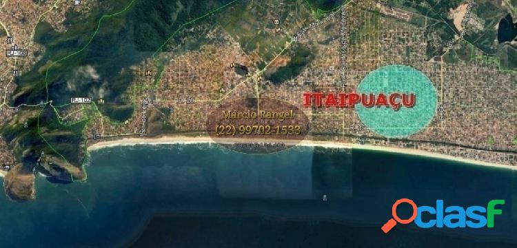 Terreno 480m² em itaipuaçu, maricá, ótimo preço, documentos 100%