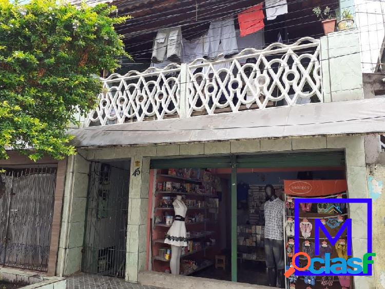 Sobrado com ponto comercial na vila mara a venda