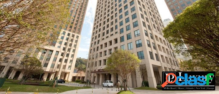 Conjunto comercial para locação no cidade jardim corporate com 108,65m²