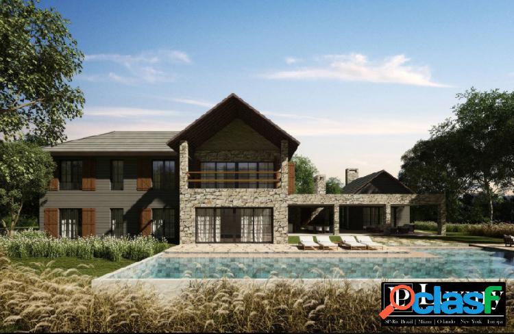 Country houses na fazenda boa vista   664 à 858m²   6 suítes   lançamento