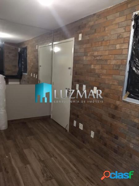 Apartamento com dois dormitórios - locação - horto do ypê