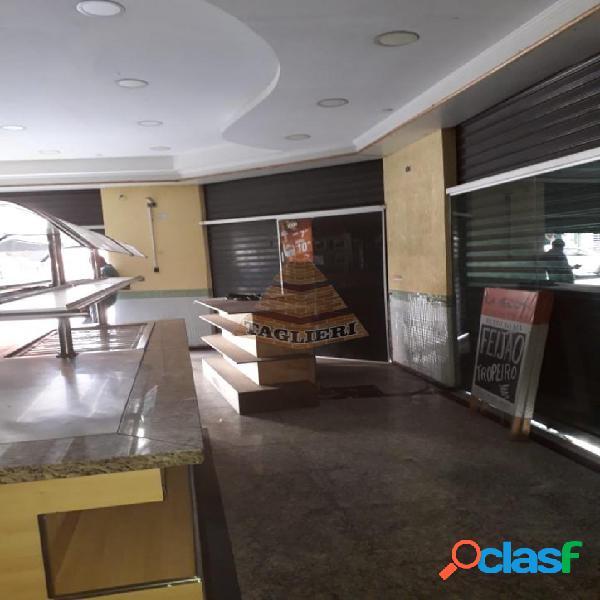 Salão comercial com instalação para comercio alimentício, im