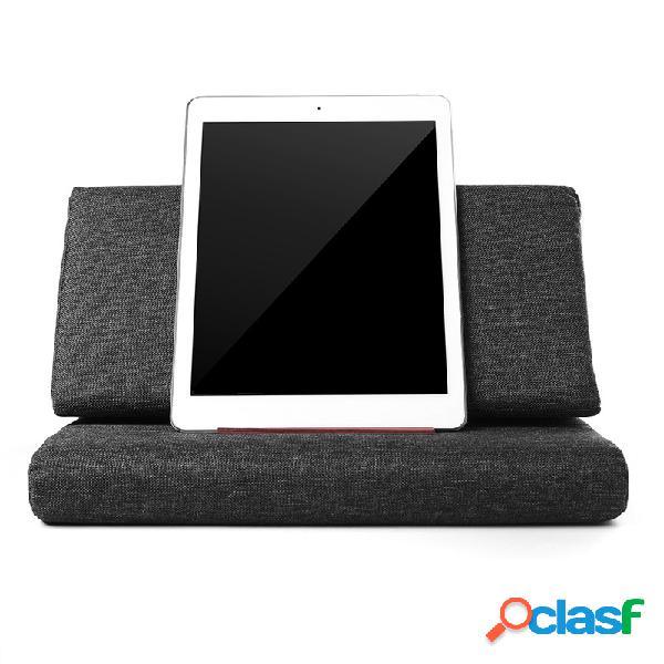 Suporte preguiçoso para travesseiro dobrável universal para smartphone e tablet suporte antiderrapante para telefone