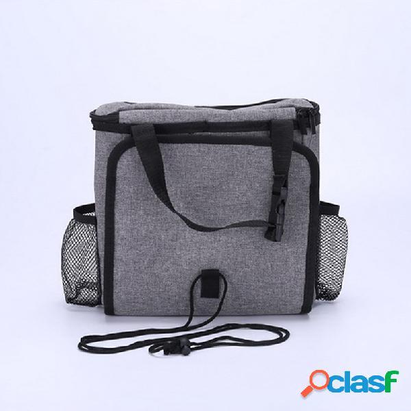 Assento de carro de cátion de volta gelo saco de armazenamento de isolamento de bebida de água fria assento de volta bolso