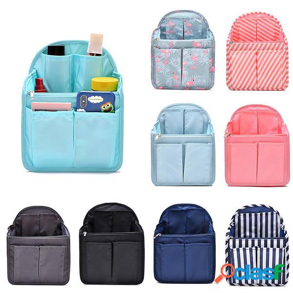 Mulheres bolsa em bolsa classificando bolsa pacote mochila bolsa grande capacidade de armazenamento bolsa