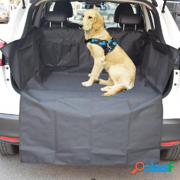 Comprimento estendido pet dog cat impermeável tampa de assento do carro mat suv seat protector