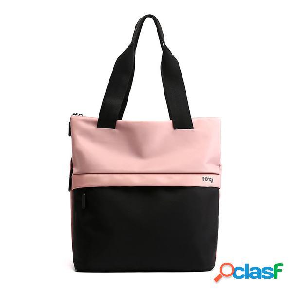 Tendência esportes ao ar livre aptidão bolsa moda grande capacidade portátil tote ladies bolsa ombro bolsa bolsa