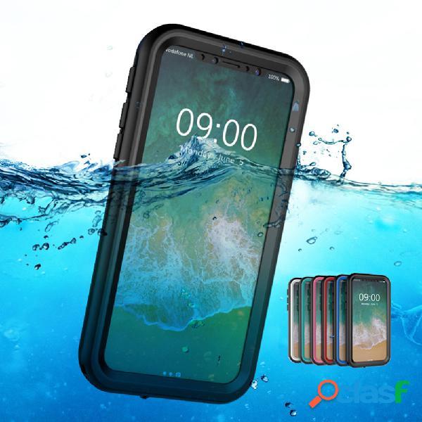 Pc unisex c-ku impermeável anti-drop celular iphone caso
