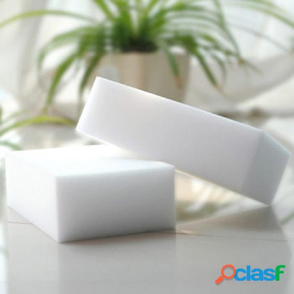 Almofadas de limpeza de borracha mágica esponja de limpeza de melamina banheiro panos de limpeza