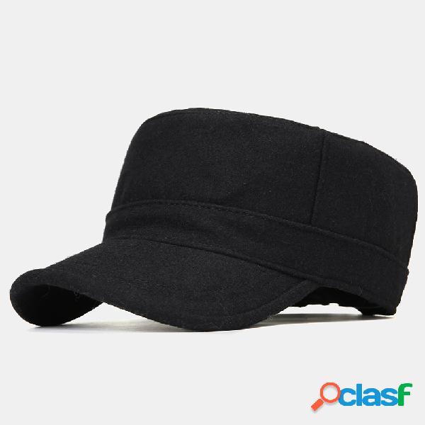Chapéu liso quente de algodão para homens e mulheres