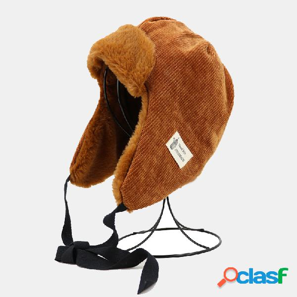 Mulheres trapper chapéu inverno russo chapéu bombardeiro chapéu