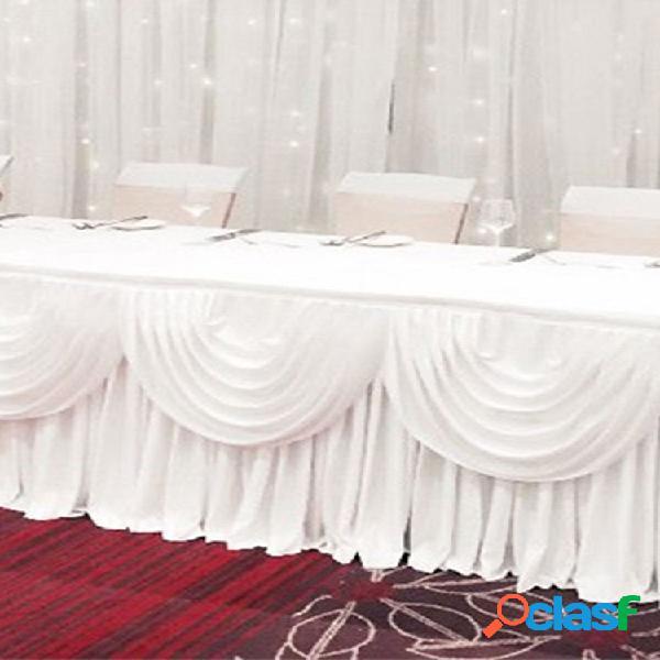 2/3 / 4m removível branco material de decoração de casamento cortinas de fundo de fotografia de casamentos - 2 m * 48 cm