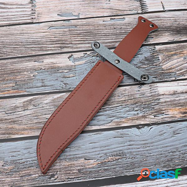Bainha de couro de 33 cm para cortador de sabre protetor de capa protetora de traje de cosplay para exterior ferramenta de artesanato de couro