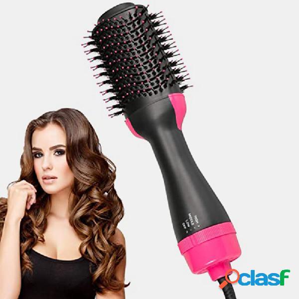 4 em 1 secador de ar cabelo escova one passo cabelo secador de cabelo volumizador de pente cabelo alisador macio de modelador