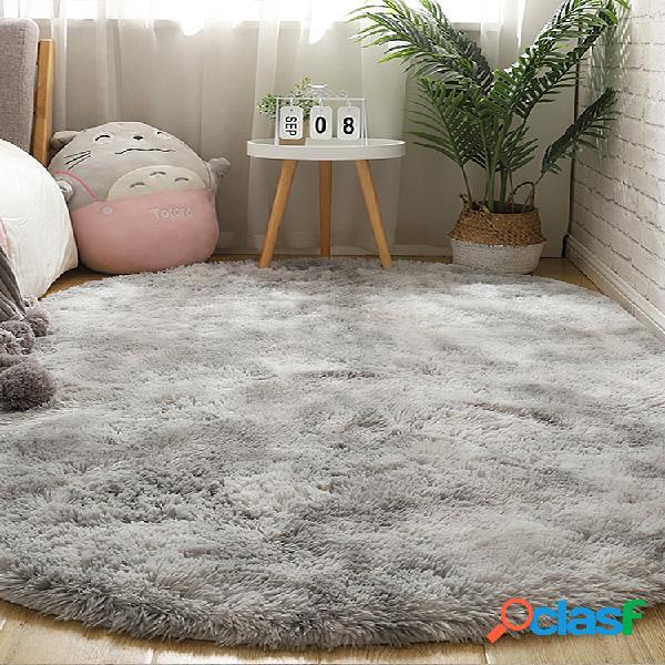 Tapete tie-dye variegated longo gradiente sala de estar quarto cobertor de cabeceira mesa de centro almofada tapete completo