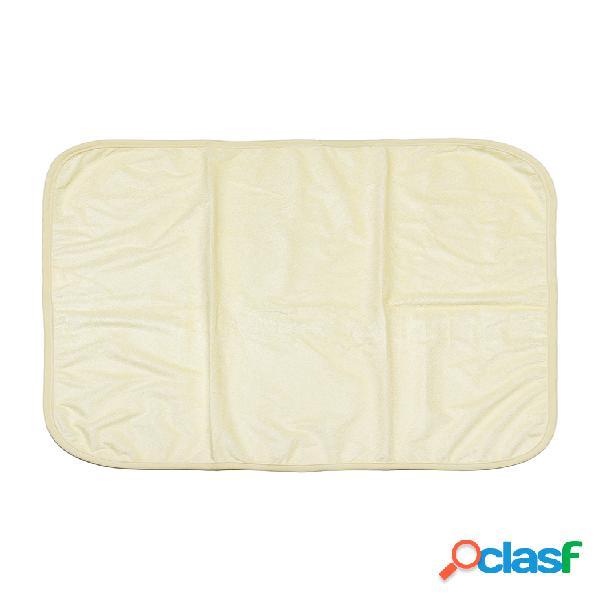 Cama para incontinência almofada para cuidados com a almofada reutilizável de alta absorção.