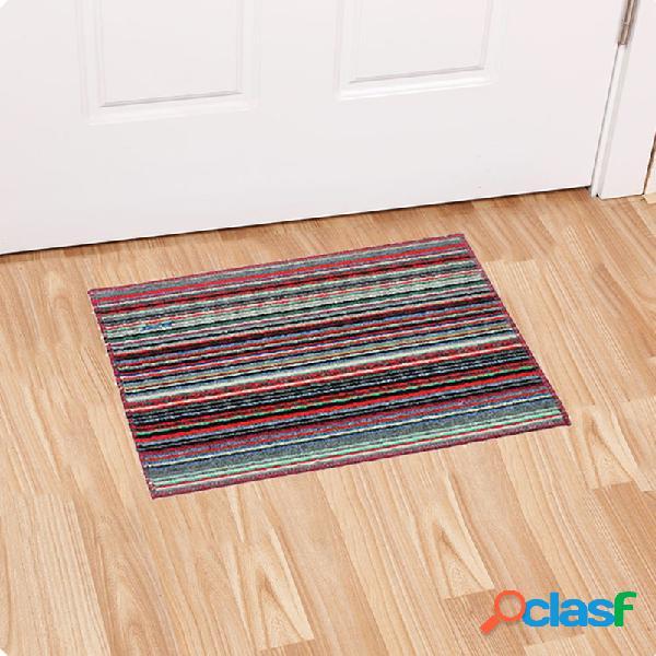 Tapete de porta antideslizante tapete antiderrapante capacho de decoração para casa tapetes criativos de cozinha e banheiro tapetes antiderrapantes