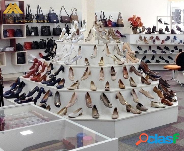 MRS Negócios - Loja de Calçados à venda no Shopping de Canoas/RS