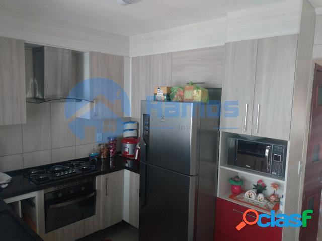 Casa em condomínio com 2 dormitórios, cond. vila das flores - cotia