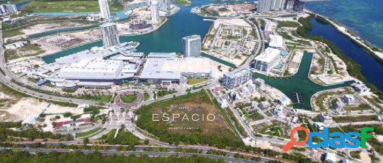 Oficinas y locales venta y renta en puerto cancún.