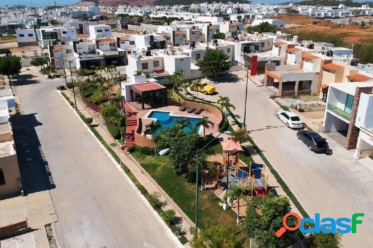 Casa en venta en coto san gabriel en hacienda del seminario mazatlán